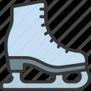 ice, skate, sport, activity, skating