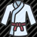karate, gi, sport, activity, clothing