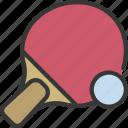 ping, pong, bat, sport, activity