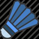 shuttlecock, sport, activity, badminton, sporting