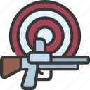 target, shooting, sport, activity, gun