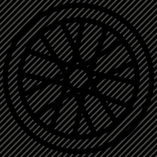 sports, wheel icon