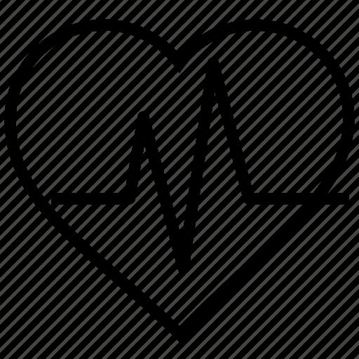 alive, health, healthy, heart, heartbeat icon