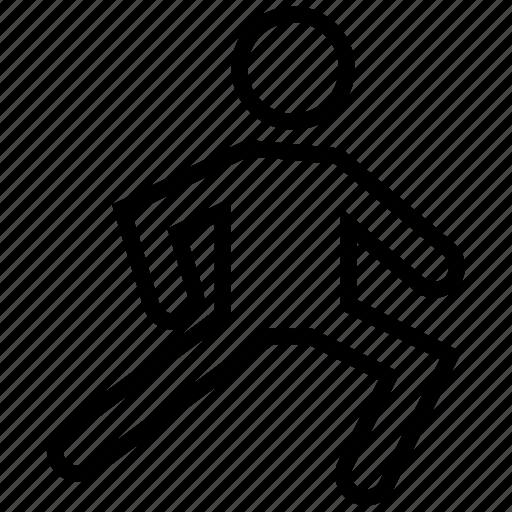 athlete, exercise, fitness, player, sportsman icon