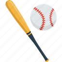 ball, baseball, bat, game, match, sport icon