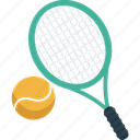 ball, game, match, racket, sport, tennis icon