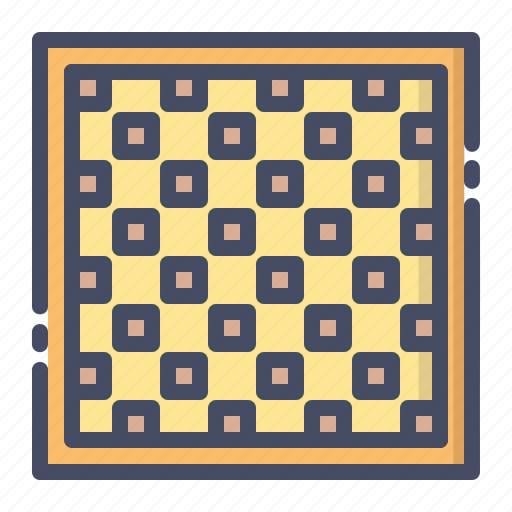 board, checkered, chess, game, indoor, leisure, play icon