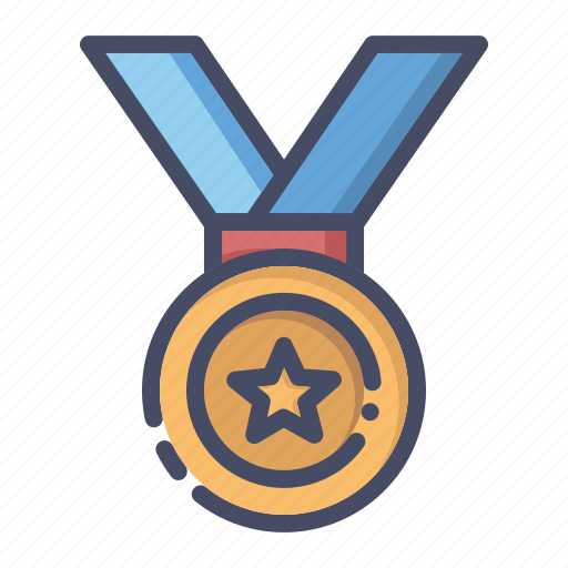 gold, honor, medal, olympics, prize, silver, winner icon
