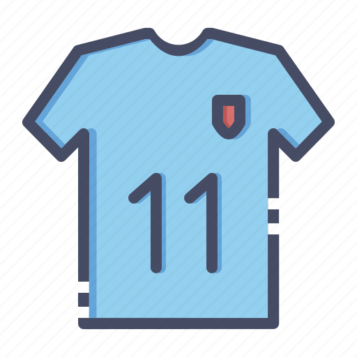 clothing, football, jersey, sports, team, tee, wear icon