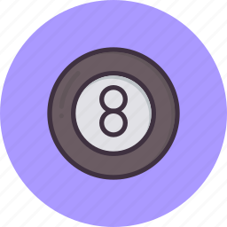 ball, billiards, eight, game, play, pool, snooker icon