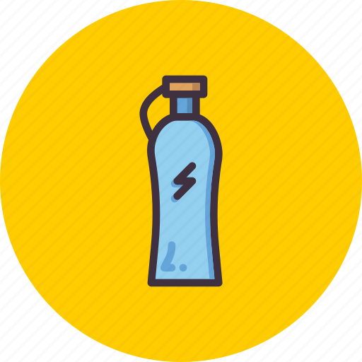 beverage, bottle, drink, enrgy, fitness, sports, water icon