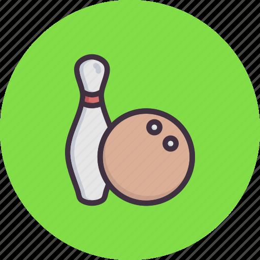 ball, bowling, fun, game, pin, play, tenpin icon