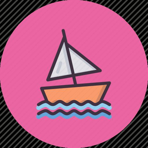 beach, olympics, sail, sailing, sports, water, yacht icon
