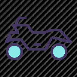 adventure, bike, motor, mountain, quad bike, ride, sports icon