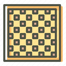 board, checkered, chess, game, leisure, play, strategy icon