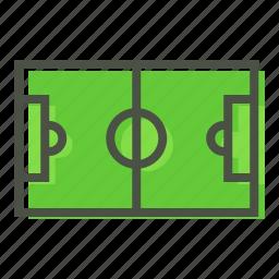 field, football, game, ground, play, soccer, stadium icon