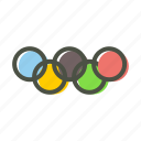 game, games, olympic, olympics, ring, rings, sports icon