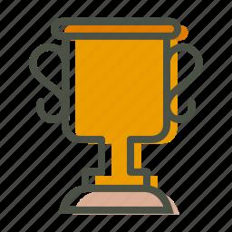 achievement, award, champion, olympics, prize, trophy, winner icon