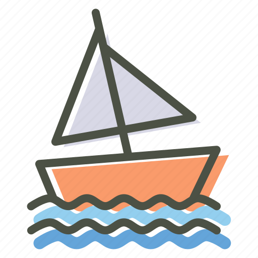 beach, olympics, sail, sailing, sports, water, yacht icon