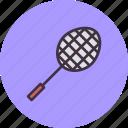 badminton, game, play, racket, racquet, shuttle, sport icon