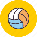 ball, game, handball, play, sport, sports, volleyball icon