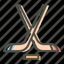 game, ice hockey, olympics, puck, sports, stick, winter icon