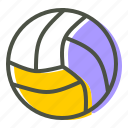 ball, game, handball, olympics, play, sport, volleyball icon