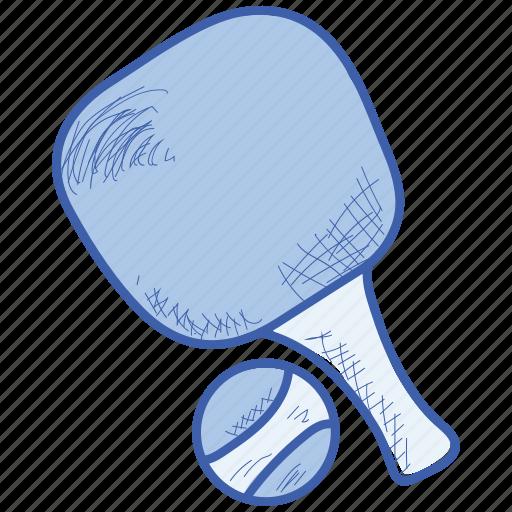 ball, racket, sport, sports, tennis icon
