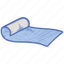 fitness, health, lifestyle, mattress icon