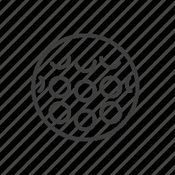 activity, ball, command, equipment, field, hockey, sport icon
