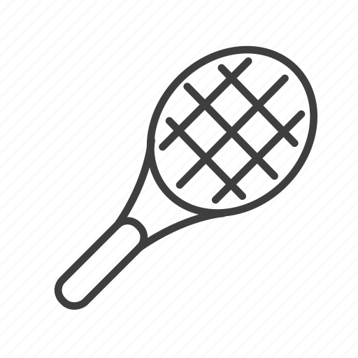 activity, command, equipment, racquet, sport, tennis icon