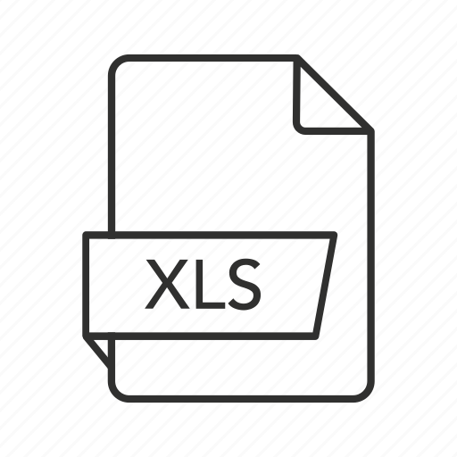 Microsoft excel, spreadsheet file, xls document, xls file, xls file icon, xls icon icon - Download on Iconfinder