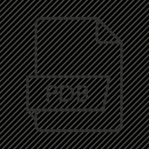 .pdb, pdb document, pdb file, pdb file icon, pdb icon, program database, program database file icon - Download on Iconfinder