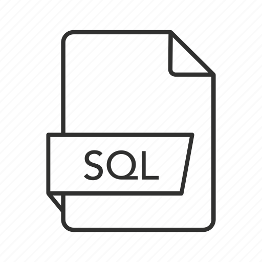 .sql, sql document, sql file, sql file icon, sql icon, structured query language, structured query language file icon - Download on Iconfinder