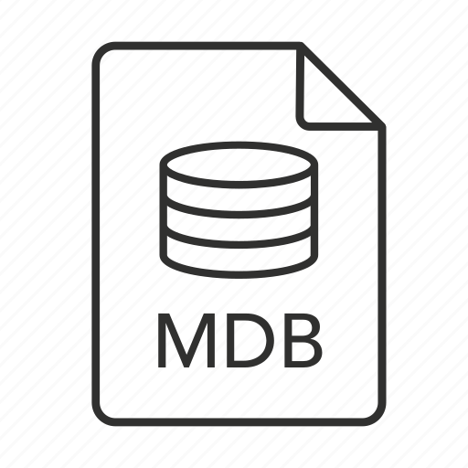 .mdb, database, mdb document, mdb file, mdb file icon, mdb icon, microsoft access icon - Download on Iconfinder
