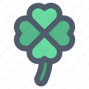 clover, day, leaf, patricks, shamrock icon