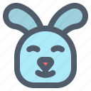 animal, bunny, cute, easter, rabbit