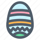 decorative egg, easter, easter egg, egg, paschal egg icon