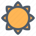farming, flower, nature, oil, sun, sun flower icon