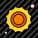 daytime, sun, sunny, weather icon