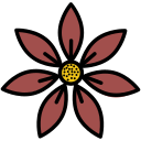 blossom, decoration, plant, flower, garden icon