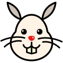 bunny, cute, easter, easter bunny, rabbit icon