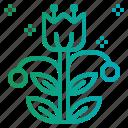 botanical, garden, nature, plant icon