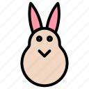 bunny, easter, rabbit icon