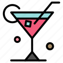 drink, glass, spring, wine icon