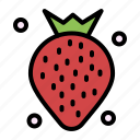 berry, food, fruit, strawberry