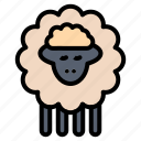 mutton, ram, sheep, spring icon