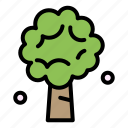 apple, nature, spring, tree icon