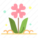 flora, floral, flower, nature, rose icon
