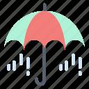 rain, spring, umbrella, weather